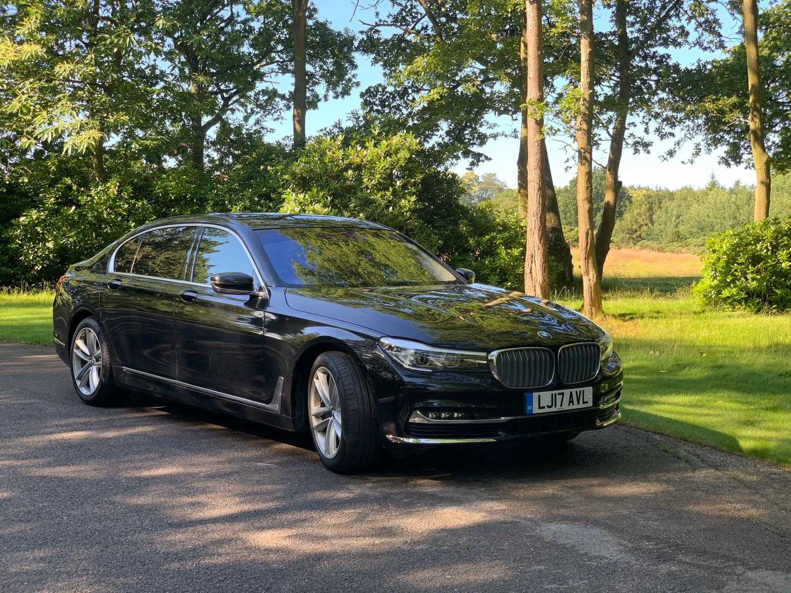 bmw 7 series hire in london
