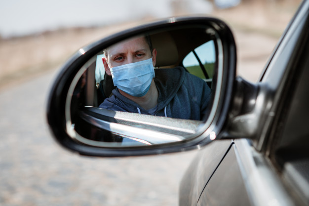 safety while driveing - coronavirus